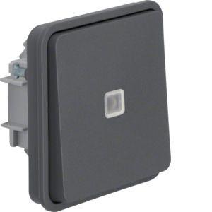 Berker - 30863525 - Wechselschalter-Einsatz beleuchtet W.1