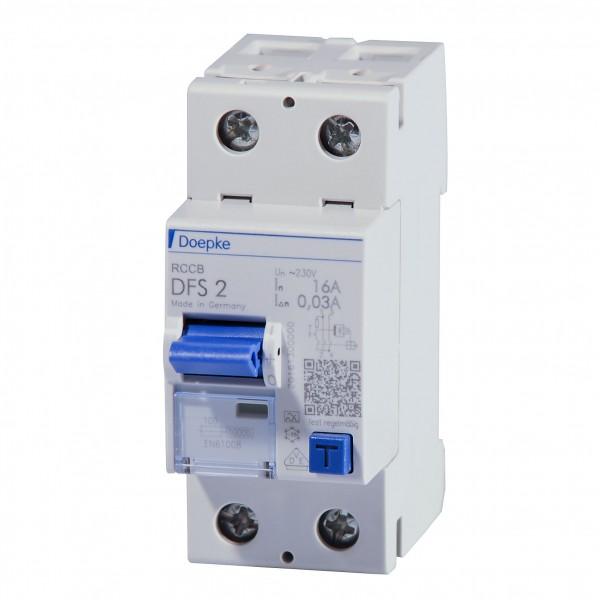 Doepke - 09124601 - Fehlerstromschutzschalter DFS2 025-2/0,03-A