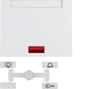 Berker - 14157109 - Wippe Kontroll mit Beschriftungsfeld