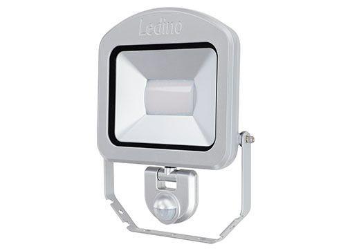 Ledino - 11120503006011 - LED-Strahler Charlottenburg mit Sensor 50W silber