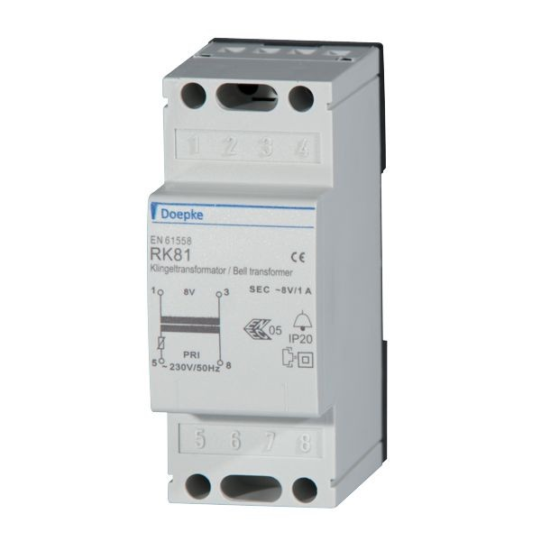 Doepke - 09980029 - Klingeltransformator RK 81