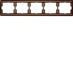 Berker - 13930001 - Rahmen 5-fach waagerecht Arsys