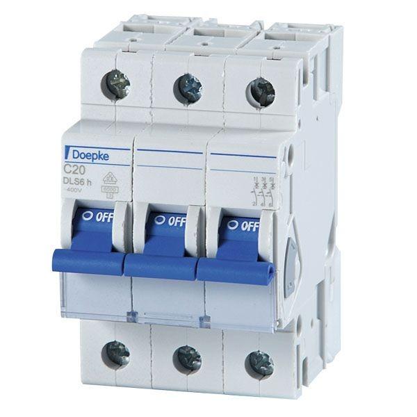 Doepke - 09914294 - Leitungsschutzschalter DLS 6H C20-3