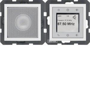 Berker - 28809909 - Radio Touch mit Lautsprecher