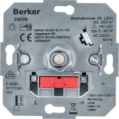 Berker - 2909 - Drehdimmer