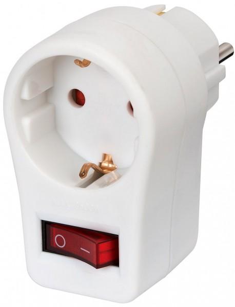 Brennenstuhl - 1508070 - Adapterstecker mit Schalter