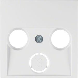 Berker - 12038989 - Zentralstück für Antennendose 2- und 3-Loch