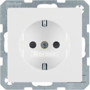 Berker - 47236089 - Steckdose mit erhöhtem Berührungsschutz Q.1/Q.3
