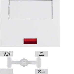 Berker - 14967009 - Kontroll-Wippe mit Beschriftungsfeld K.1
