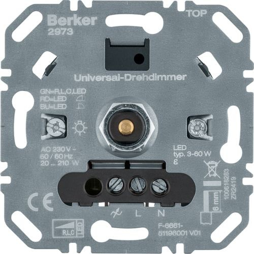 Berker - 2973 - Universal-Drehdimmer