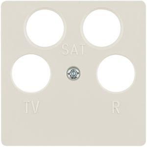 Berker - 148402 - Zentralstück für Antennendose 4-Loch
