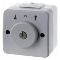 Berker - 327205 - Jalousie-Schlüsselschalter Aquatec