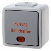 Berker - 356605 - Heizung-Notschalter Aquatec