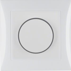 Berker - 28198989 - Drehdimmer mit Abdeckplatte und Regulierknopf S.1