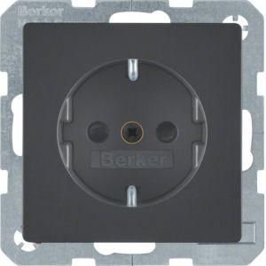 Berker - 47236086 - Steckdose mit erhöhtem Berührungsschutz Q.1/Q.3