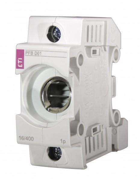 ETI - 002510011 - Kunststoff-Sicherungssockel NEOZED D01 1-polig