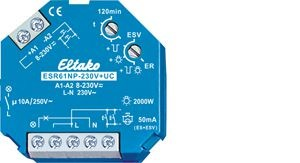 Eltako - 61100001 - Stromstoß-Schaltrelais ESR61NP-230V+UC