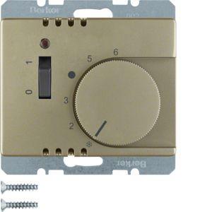 Berker - 20309011 - Temperaturregler mit Wippschalter