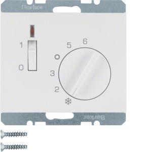 Berker - 20307109 - Temperaturregler mit Wippschalter
