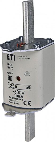 ETI - 004185215 - Sicherung NH2C 125A