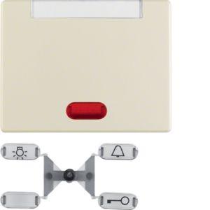 Berker - 14150202 - Kontroll-Wippe mit Beschriftungsfeld Arsys