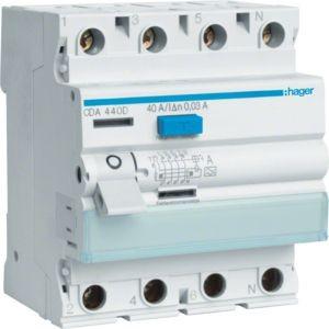 Hager - CDA463D - Fehlerstromschutzschalter