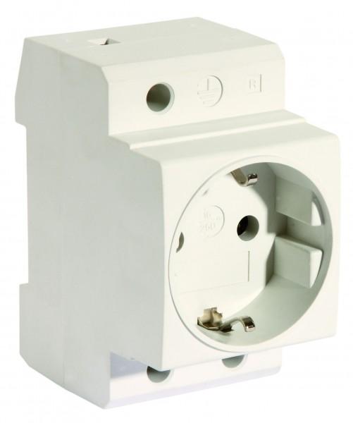 Pollmann - 6334787 - Verteiler-Einbausteckdose VES