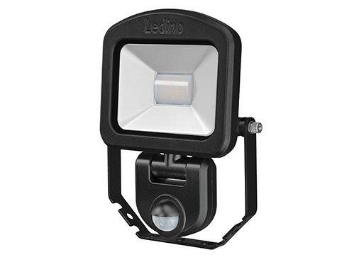 Ledino - 11120103006022 - LED-Strahler Charlottenburg mit Sensor 10W schwarz