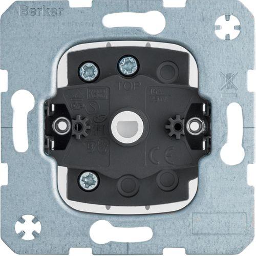 Berker - 385103 - Jalousie-Schalter 1-polig für Zentralstück mit Schloss