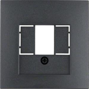 Berker - 10331606 - Zentralstück mit TAE-Ausschnitt