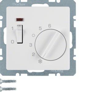Berker - 20306089 - Temperaturregler mit Wippschalter