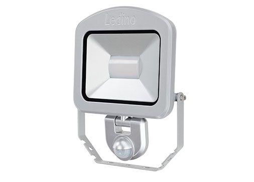 Ledino - 11120303006011 - LED-Strahler Charlottenburg mit Sensor 30W silber