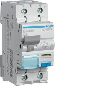Hager - ADA516D - Fehlerstrom-Leitungsschutzschalter