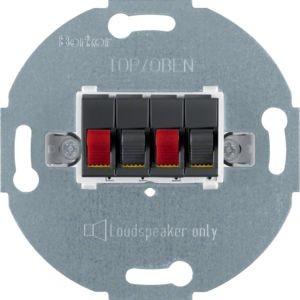 Berker - 457305 - Stereo-Lautsprecher-Anschlussdose