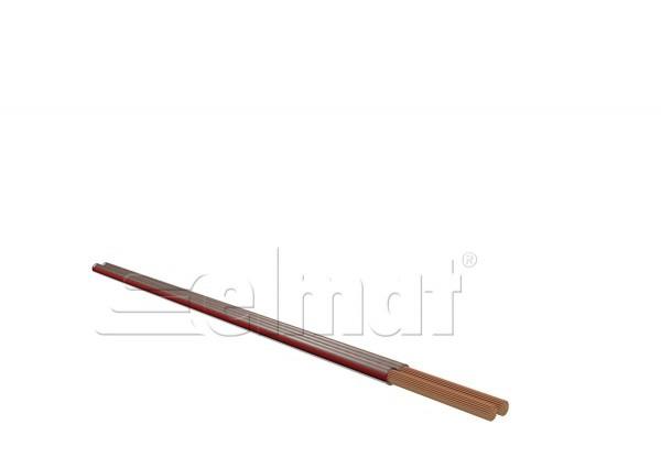 Elmat - 6560003-009 - 50m Lautsprecherkabel 2x2,5mm²/0,20 transparent
