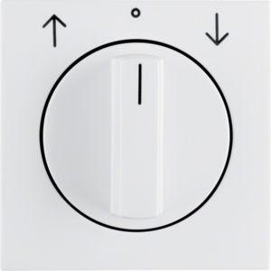 Berker - 10808989 - Zentralstück mit Drehknopf für Jalousie-Drehschalter