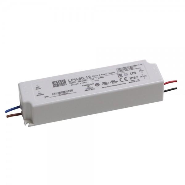 Meanwell - LPV-60-12 - LED-Netzgerät 12V 60W