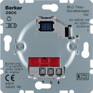 Berker - 2905 - BLC Triac-Schalteinsatz