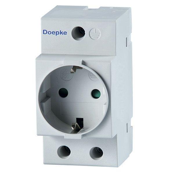 Doepke - 09980028 - Reiheneinbausteckdose RDS 6