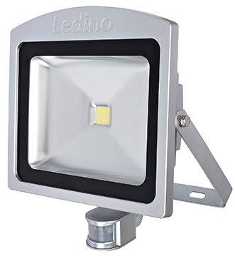 Ledino - 11120503001011 - LED-Strahler Dahlem mit Sensor 50W silber